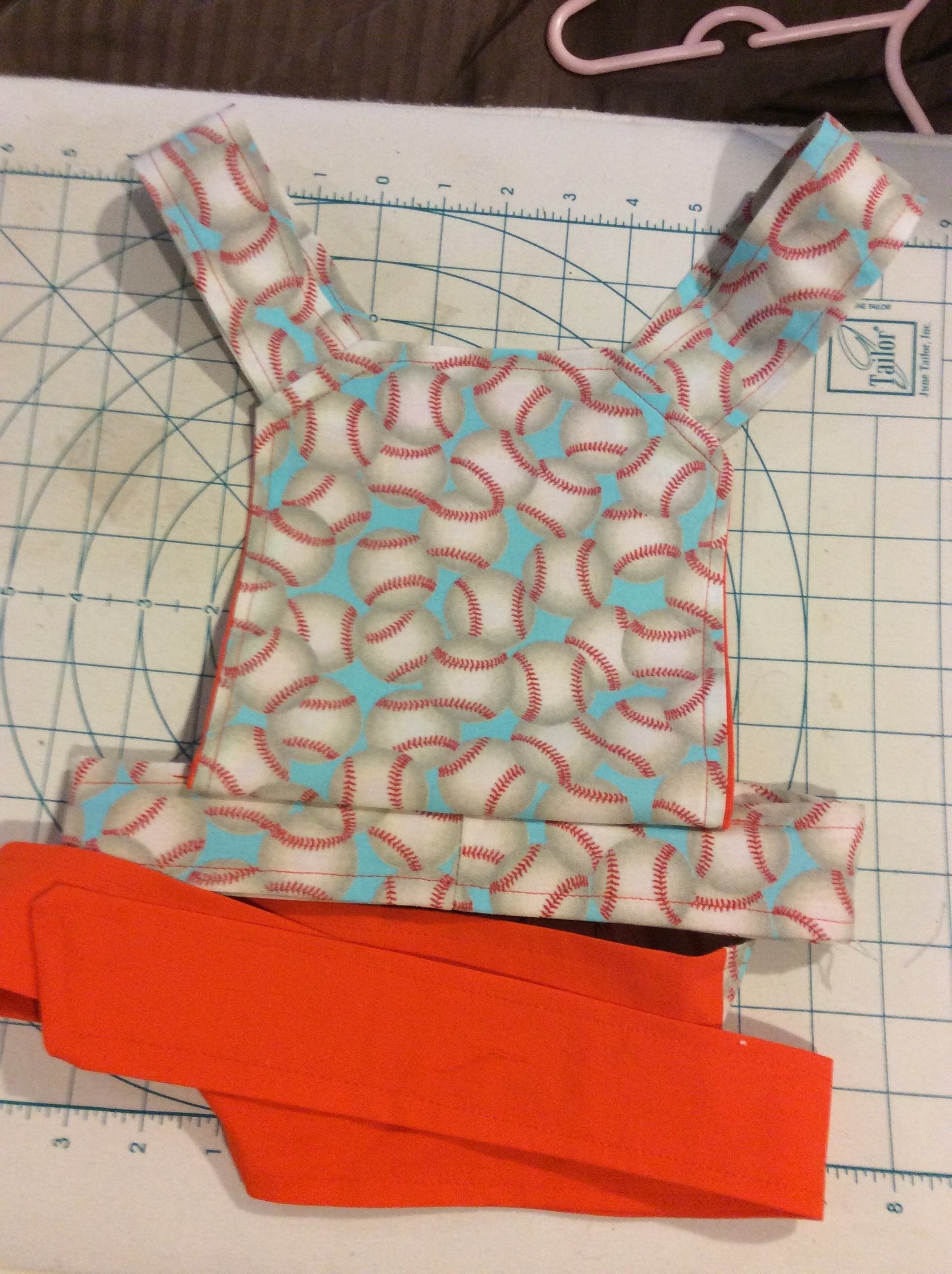 Baseball Baby Doll Carrier *sold*