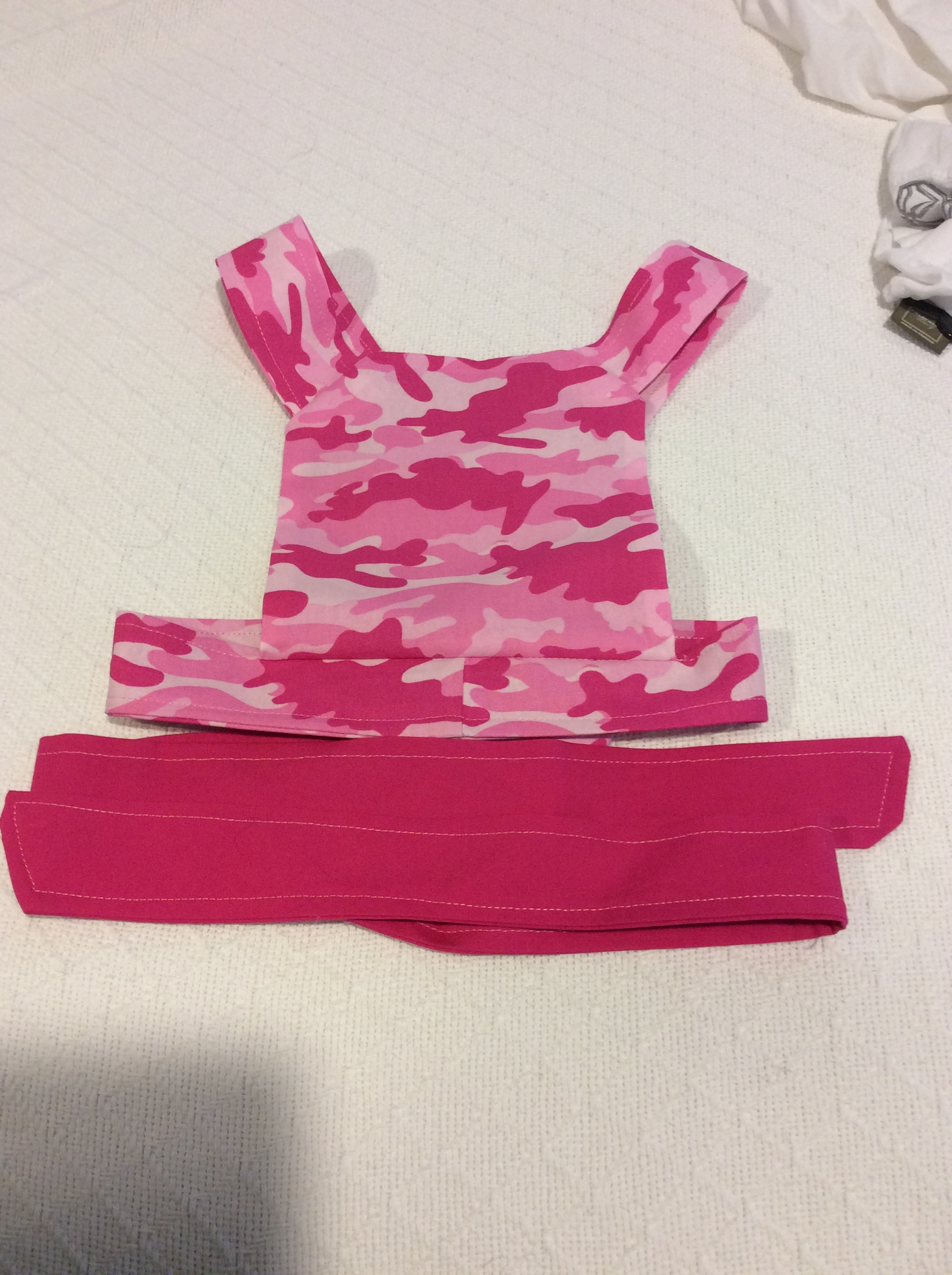 Pink Cammo Baby Carrier