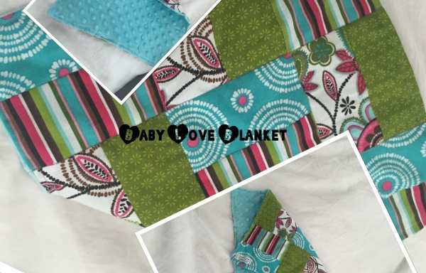 Quilted Baby Love Blanket